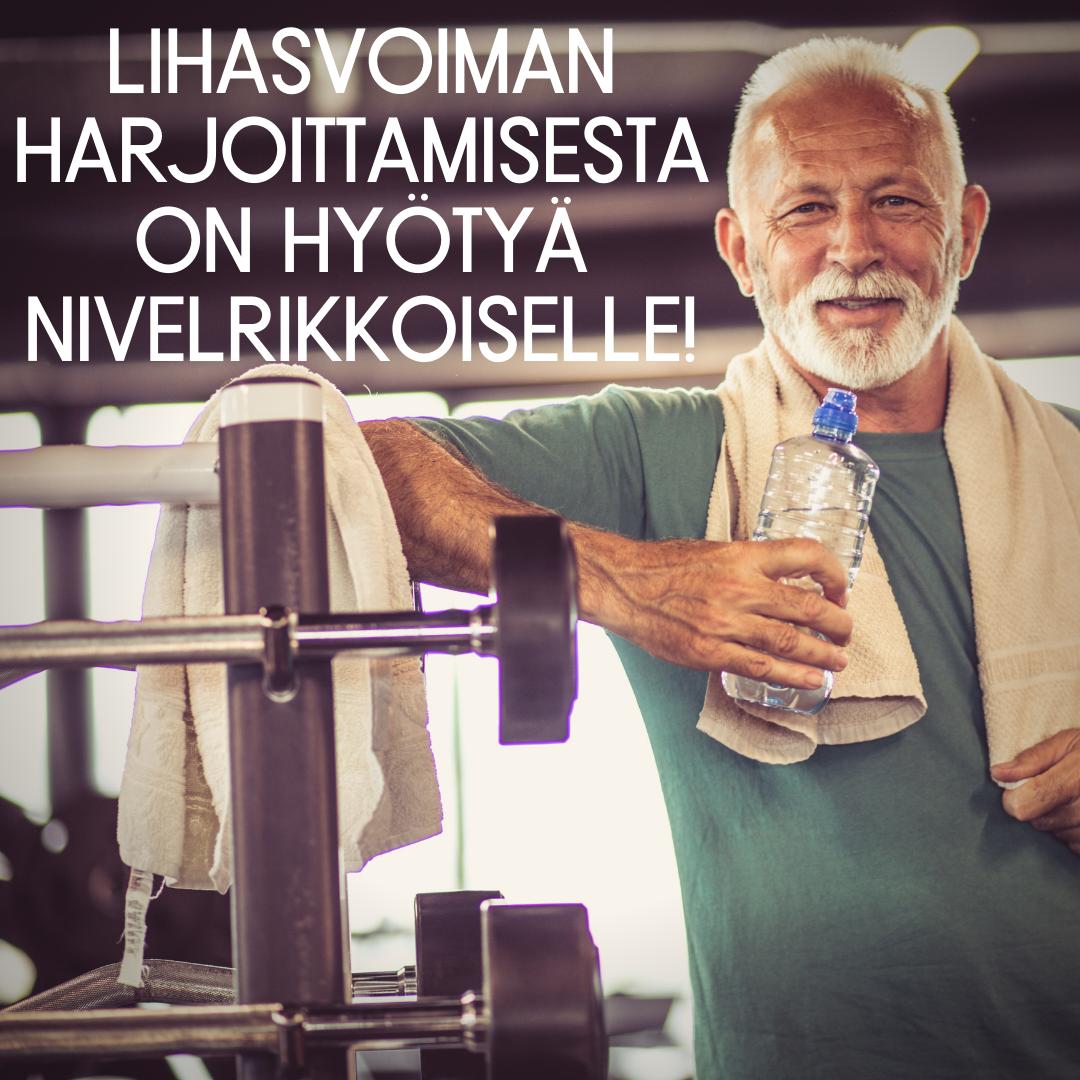 polven nivelrikko ja harjoittelu, polven nivelrikko ja liikunta, liikunta ja fysioterapia auttavat polven nivelrikkoon